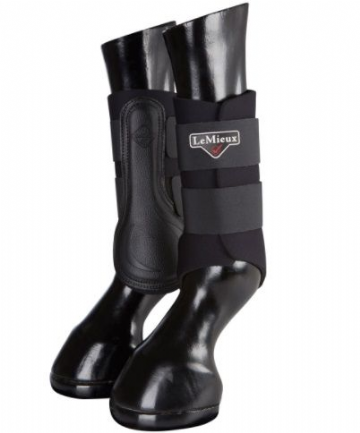 LeMieux Grafter Brushing Boots - Black